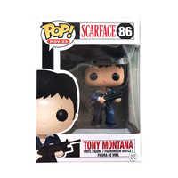 Funko POP Scarface Tony Montana Vinyl Action-figuren Original Box Sammlung Modell Spielzeug für Geburtstag Party Geschenke F100