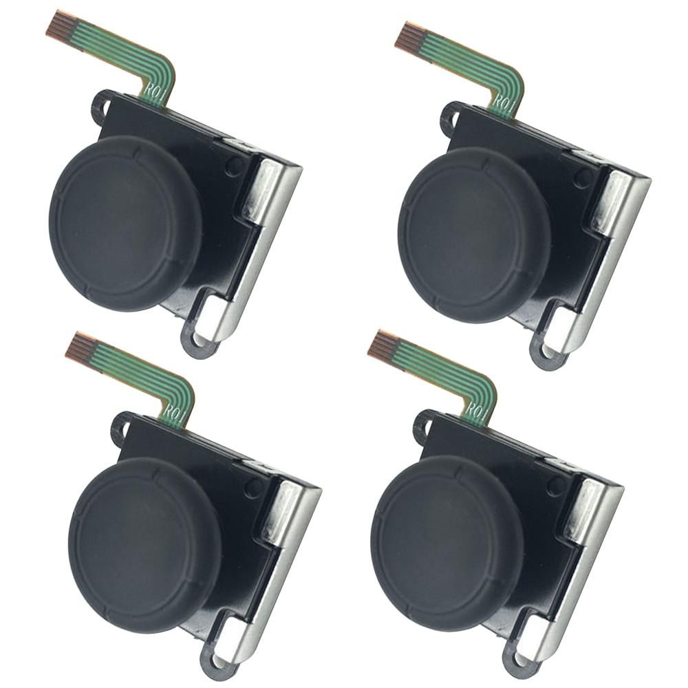 Reemplazo del sensor de barras de joystick analógicas 3D para Nintendo Switch NS Joy Con partes del controlador de reparación negro