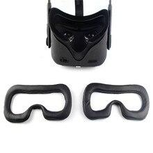 Маска для глаз, коврик, рама, набор волшебных наклеек для Oculus Quest, VR гарнитура, сменная маска для глаз, дышащий чехол для лица Oculus Quest