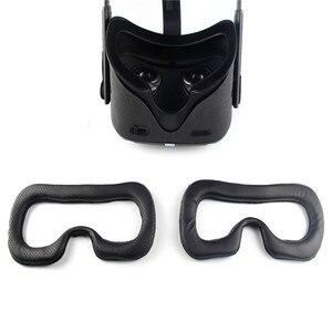 Image 1 - Set di adesivi magici per tappetino per maschera per gli occhi Oculus Quest VR cuffia di ricambio per maschera per gli occhi copertura per il viso traspirante per Oculus Quest