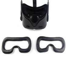 قناع عين حصيرة الإطار ماجيك ملصق مجموعة ل كوة كويست سماعات VR استبدال قناع عين الوسادة تنفس واقي الوجه ل كوة كويست