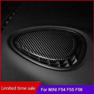 Image 1 - 탄소 섬유 대시 보드 센터 콘솔 공기 콘센트 장식 스티커 미니 쿠퍼 S F54 F55 F56 F57Car 인테리어 액세서리