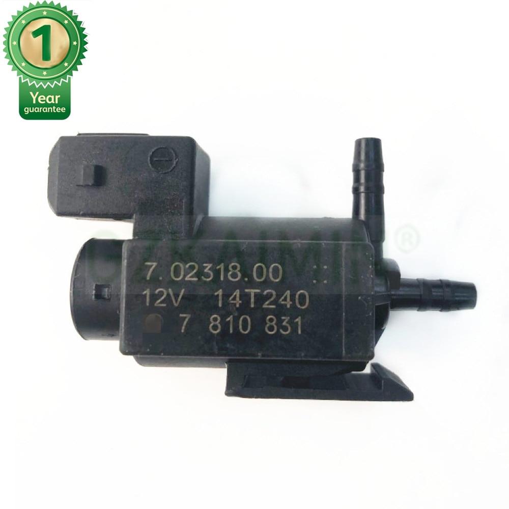 OEM 11747810831 Vacuum Pressure Control Valve Fits BMW E39 E46 E81 E82 E90 E91 E92