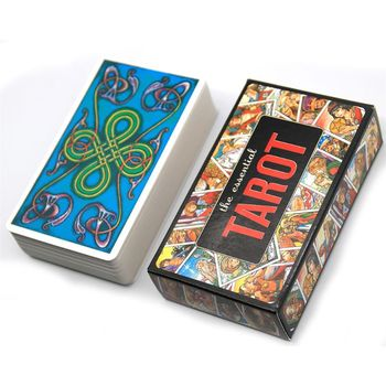 The Essential Tarot 78 Cards Deck Family Party Board Game Oracle Playing Card 24BD недорого