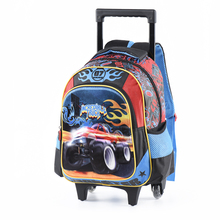 Купить с кэшбэком Cartoon Kids Children School Backpack Cool Car Bags Boys Bookbag  School Backpacks for Teens Boys Student Schoolbag