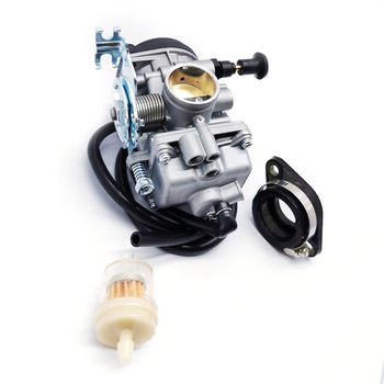 For Suzuki DR200SE DR200S Carburetor with Intake Manifold Boot and Oil filter