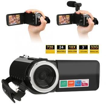 filmadora 3 inch LCD Screen 18X Digital Zoom High Definition DV Camera Camcorder camera profissional Digital Video Camera 1