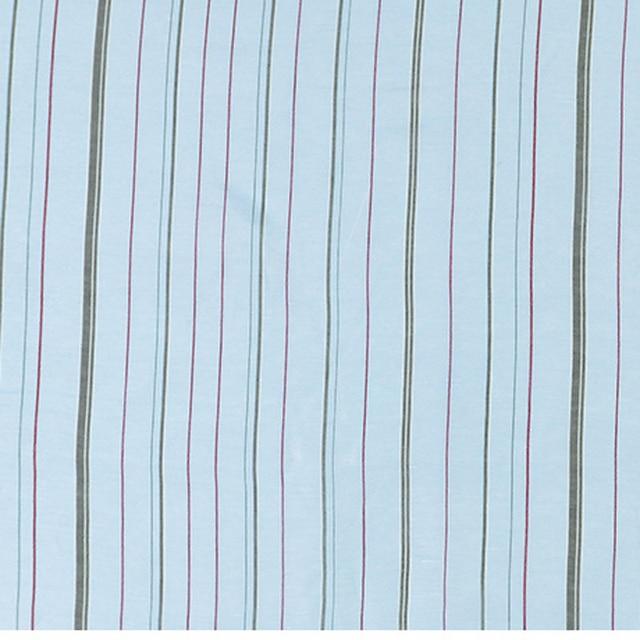 100cm*140cm Fresh Blue Stripe Silk Linen Fabric Slub Natural Material For Dress