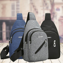 Chest Bag Men And Women Casual Wild Messenger Zipper Outdoor Travel Small Square Shoulder crossbody сумка мужская