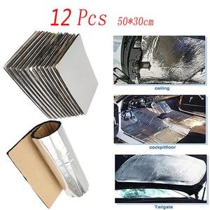 Чехлы для автомобиля 10/7/8 мм, 50*30 * см, шумоизоляция, хлопок, для Kia Rio 3 Ceed Toyota Corolla 2008 Avensis C-HR RAV4 Mazda 3 6
