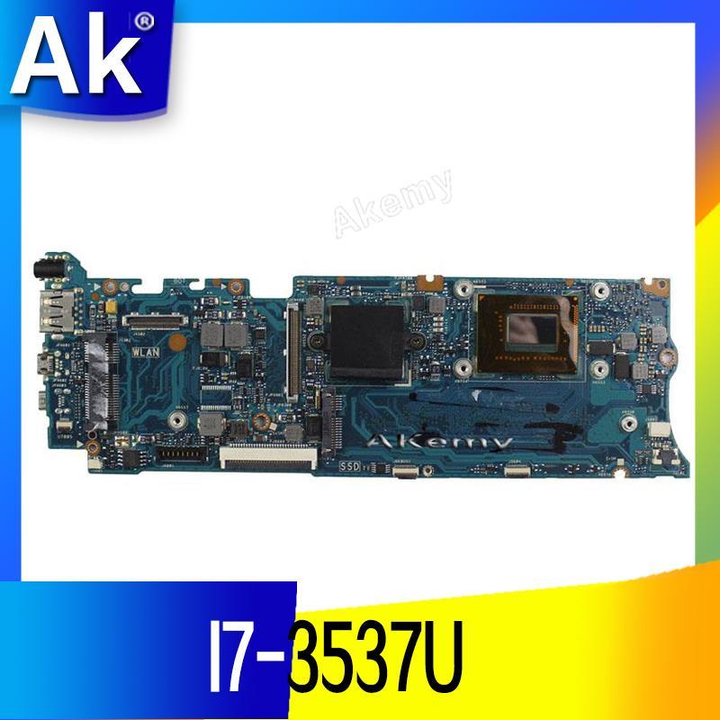 AK TAICHI31 Laptop motherboard I7-3537U CPU 4GB Ram for ASUS Taichi 31 Test mainboard TAICHI31 motherboard test 100% ok
