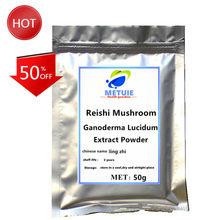 High Quality Lingzhi Reishi Mushroom Powder Extract 50% Polysaccharide Triterpenel Tea 1pc Festival Top Ganoderma Lucidum