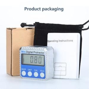 Image 5 - 360° Mini Digital Protractor High Precision Electronic Goniometer Inclinometer Digital Level Angle Finder Angle Measurement Box