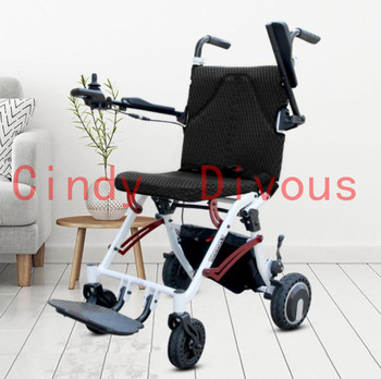 2019 hot sell Free shipping good quality lightweight portable mobility 18kg electric wheelchair