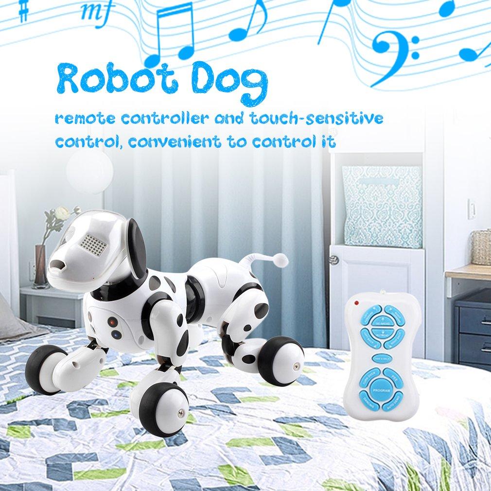 fio criancas brinquedo inteligente falando robo cao 05