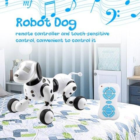 fio criancas brinquedo inteligente falando robo cao
