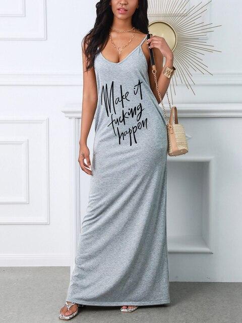 Фото женское платье одежда летние длинные платья без рукавов с v цена