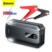 Baseus Car Jump Starter Power Bank 20000mAh 2000A dispositivo di avviamento batteria per Auto portatile Booster per Auto di emergenza avviamento automatico
