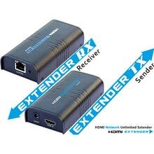 정품 LKV373 HDMI 익스텐더 수신기 키트 LKV373 V2.0 cat5e/6 케이블을 통한 tcp/ip HDMI 익스텐더 스플리터 최대 120m