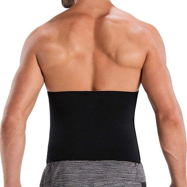 Compression Body Shaper Belt Gym Slimming Belly waist support Belt Fat Burning Weight Loss Waist Sweat waist Trainer protector 2