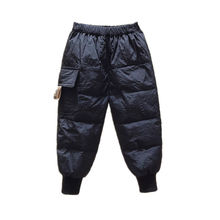 Warm Pants Trousers Cotton-Padded Loose Girls Outdoor 1-9-Years-Old Waterproof Boys Kids
