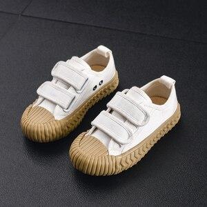 Image 5 - Детские парусиновые кроссовки JAKOBBEAR, повседневная обувь для девочек и мальчиков, садовые кроссовки