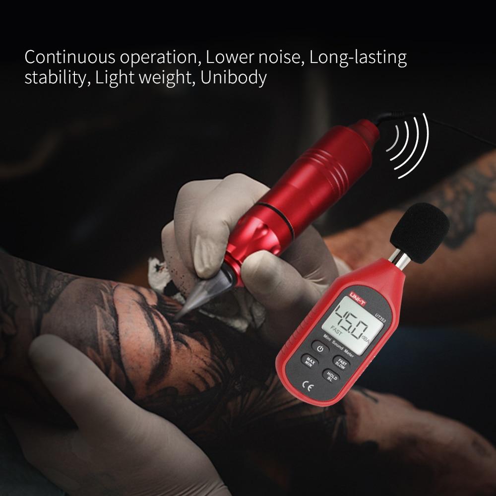 Moteur rotatif professionnel de stylo de Machine de tatouage pour le moteur de pistolet de tatouage de Shader de revêtement Kit de Machine de tatouage d'alliage d'aluminium de Microblading - 4