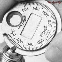 Горячая Распродажа, 1 предмет, для монет-Тип 0,6-2,4 мм Свеча зажигания измеритель зазора инструмент измерения Диапазон Свеча зажигания датчик ...