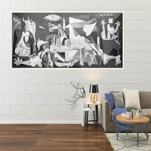 Spain France Picasso Vintage Classic Guernica Germany Figure Canvas Art Print Painting Poster Wall Picture For Home Decoration oppler picasso s guernica cloth