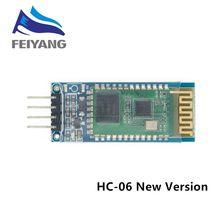 Module esclave émetteur-récepteur Bluetooth sans fil HC 06 RF, RS232 / TTL vers UART, convertisseur et adaptateur hc-06 HC 05, nouvelle version hc-05