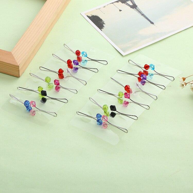 Image 5 - 12 peças embaladas vendas muçulmanas senhoras cachecol clipe  poderoso cachecol fivela colar fivela acessórios femininosBroches   -