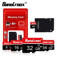 Banolroox 10 classe cartão Micro sd 128GB GB GB 16 32 64GB mini 8GB 4GB Microsd TF Cartão de Memória flash usb cartão de cartao de memoria