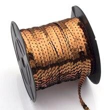 Glitter Ribbon Strings Lights Flat Trim Sewing Craft For Dress Embellish Fabric Sequin