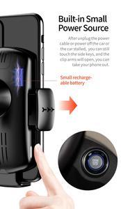 Image 5 - קול שידור אלחוטי רכב טלפון מטען 15W תשלום מהיר רכב מחזיק עבור iphone 11 פרו 11XS מקסימום עבור Huawei mate30pro P30 פרו