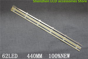 Image 3 - Tira de luces LED LTJ400HM03 H UA40D5000PR, 4 unidades por lote, BN64 01639A 2011SVS40 FHD 5K6K 2011SVS40 56K H1 1Ch PV2 440mm, 62LED, izquierda y derecha