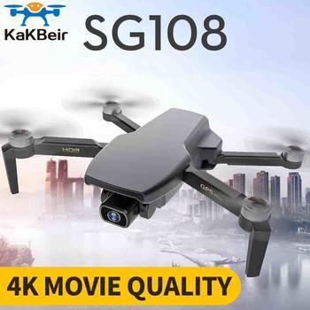 KaKBeir SG108 drone 4k HD 5G WiFi GPS dron brushless Motor FPV drone 25 min flight rc distance 1km rc quadcopter vs e68 drone