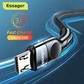 Essager микро USB кабель 3A зарядное устройство для быстрой зарядки Microusb провод шнур для Samsung Xiaomi Redmi Android мобильный телефон кабель для передачи да...