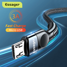 Micro-Usb-Cable Data-Cable Fast-Charging-Charger Mobile-Phone 2M Essager Xiaomi Redmi