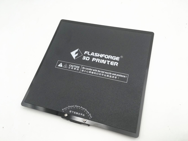 170X170MM Flashforge Adventurer 3 3D Printer Platform Components With Grey Heated Bed Tape Print Sticker Plate Tape