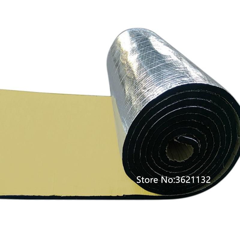 Voiture style 1m * 10m * 10mm isolation thermique choc coton isolation phonique coton coussin d'isolation thermique produits modifiés