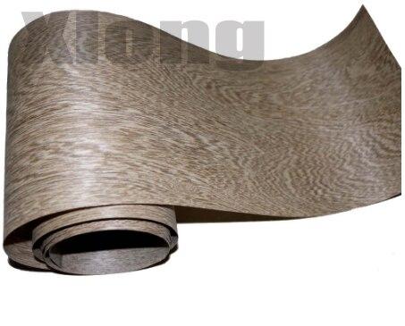 Length: 2.5 Meters Width: 15cm Coffee Grey Veneer Solid Wood Veneer Furniture Table Decorative