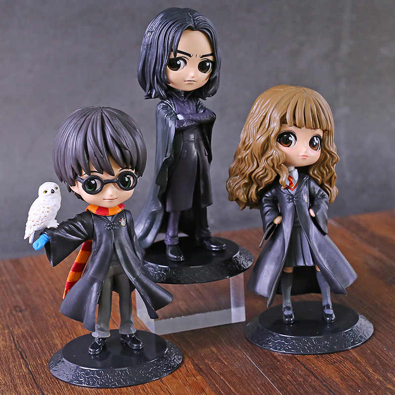 Q Posket Hermione Snape Q Versi PVC Figure Collectible Model Toy Q Versi Boneka