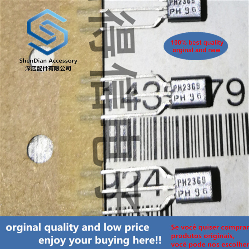 30pcs 100% Orginal New PH2369 2369 200MA 15V NPN TO-92 Real Photo