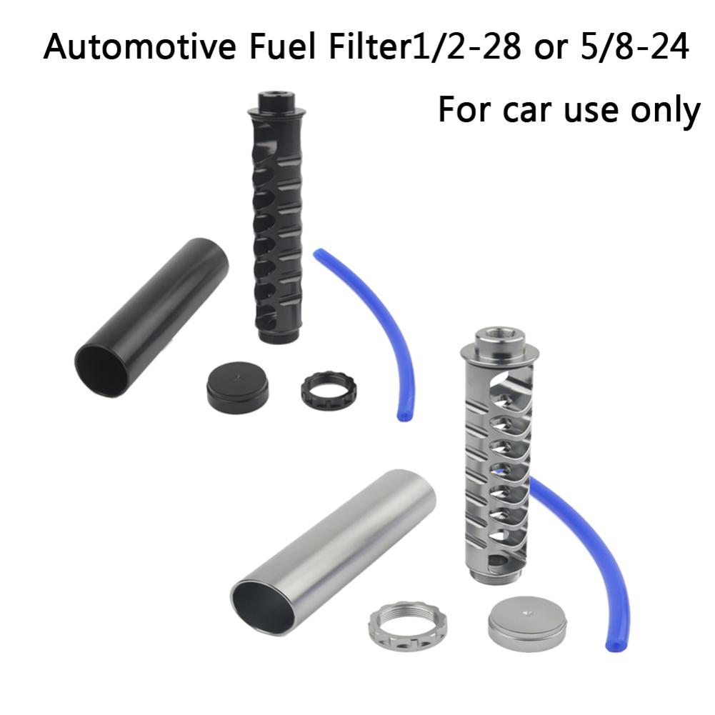 Free Shipping Spiral 1 / 2-28 Or 5 / 8-24 Single Core Auto Fuel Filter For NAPA 4003 WIX 24003 Auto Used Fuel Filter