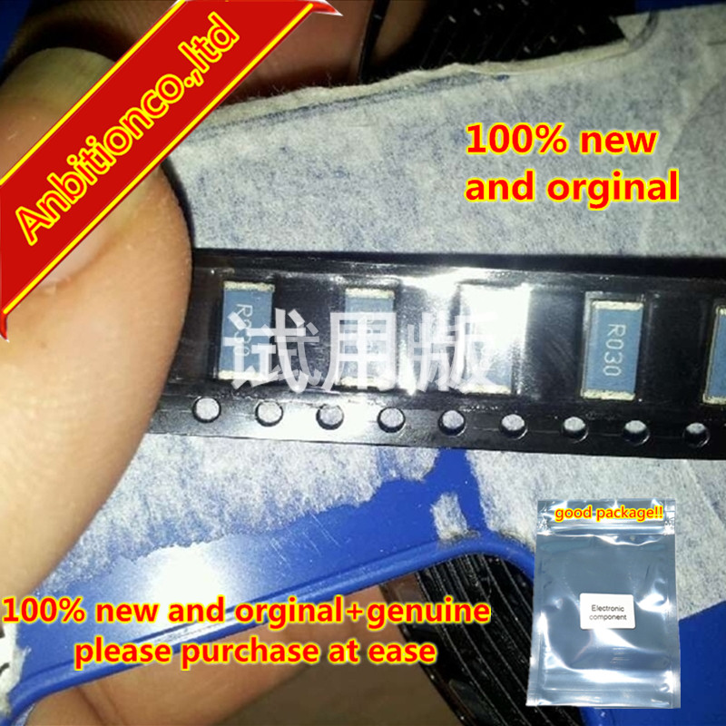 10pcs 100% New And Orginal SMD Alloy Resistor LR2512-01-R030F 2512-0.03R 30 Milliohm 1W In Stock