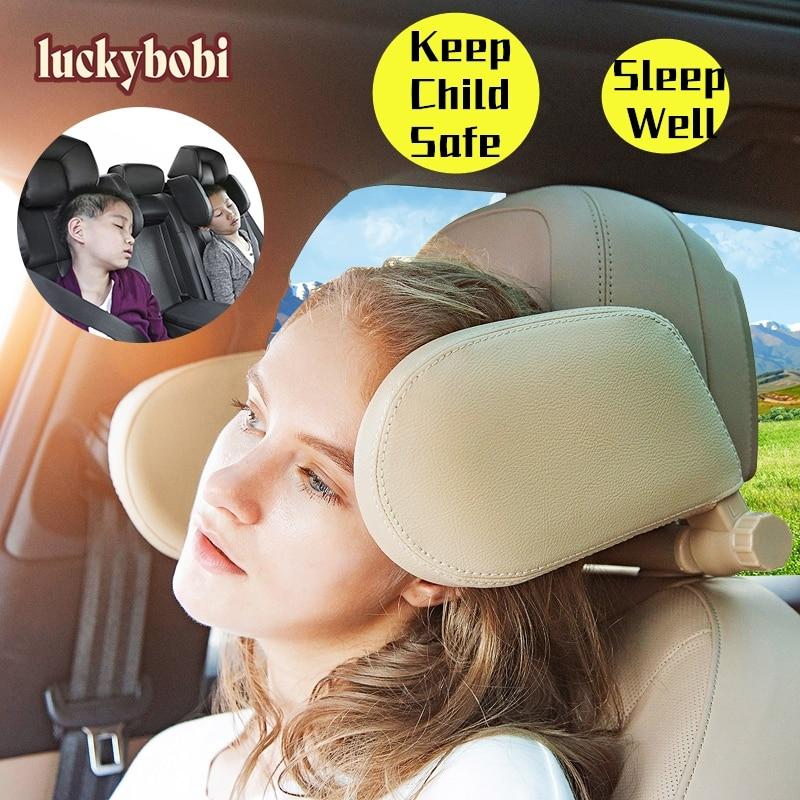 Siège de voiture appui-tête oreiller voyage reste cou oreiller soutien Solution pour enfants oreiller et adultes Auto siège tête coussin voiture oreiller