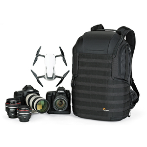 """Image 3 - Genuine Lowepro ProTactic 450 aw / 450 aw II shoulder camera bag SLR backpack with all weather Cover 15.6"""" laptop"""
