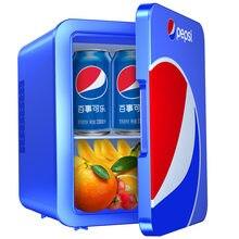 4 L Einzel Tür Kühlschränke Für Heizung und Kühlung Elektrische Hause Kleine Kühlschränke Gefrierschrank Desktop Kühler Wärmer für Büro Mit