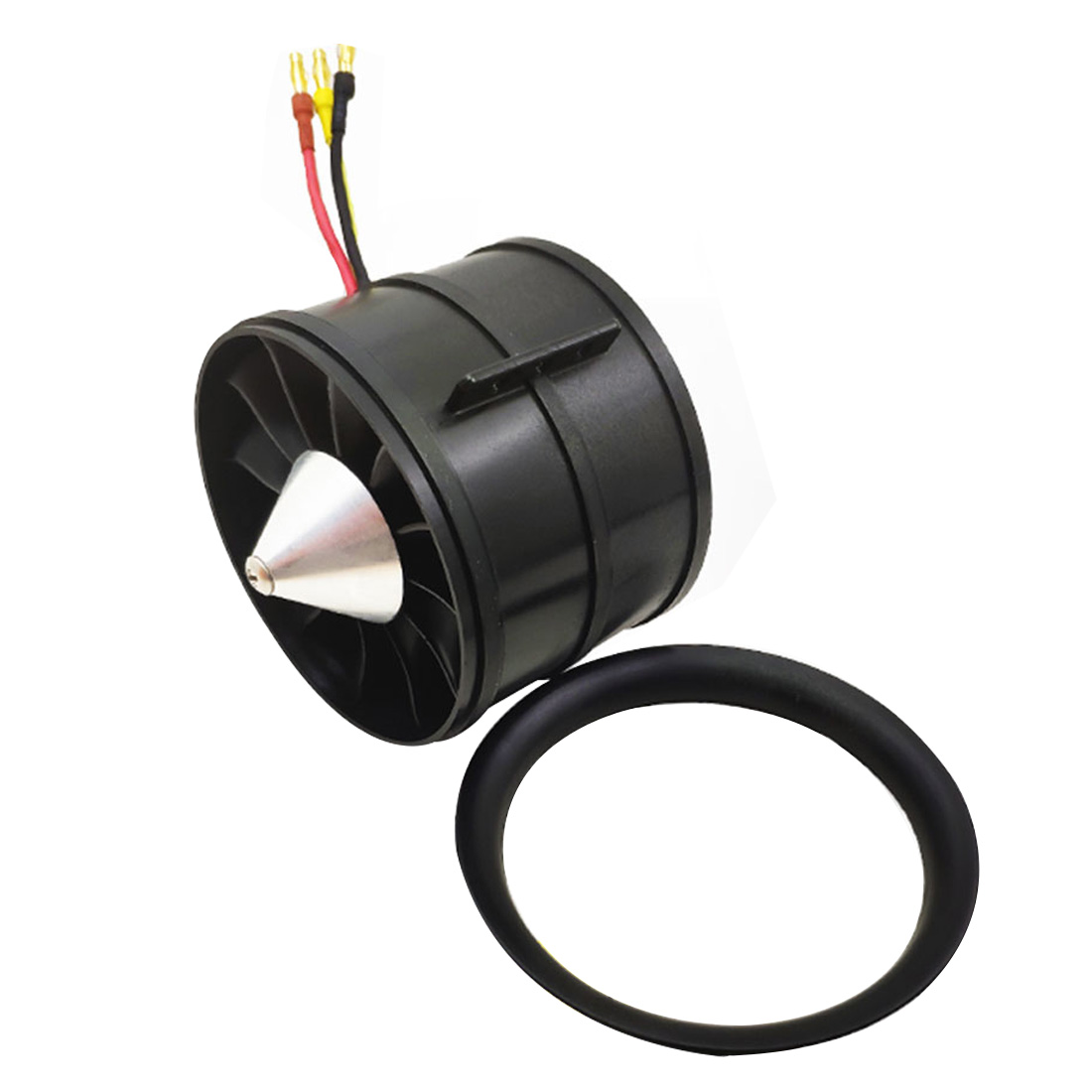 QX-MOTOR DIY EDF Ducted Airplane Fan 90mm QF3530 w/ Brushless Motor 6S <font><b>1450KV</b></font> 1550 KV / 8S1200KV / 12S 1000KV for RC Drone image