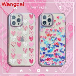 Image 1 - Clear Heart Case For OPPO Reno 5Z 5f 5 Lite 4F 4 Lite A93 2020 A94 A54 4G A54 A93 A74 5G Case Love Phone Soft Silicone Cover